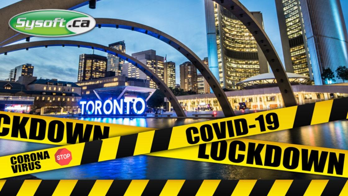 Toronto Lockdown Coronavirus COVID19
